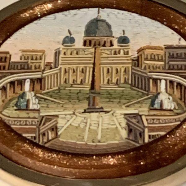 Saint Peter's Square, Micromosaic Brooch