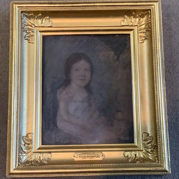 Pair of Virginia Pastel Portraits, Felix Sharples