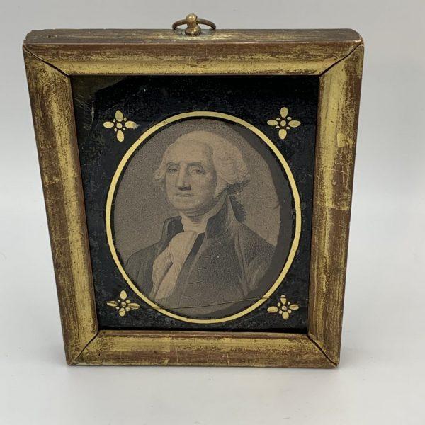 Small Engraved Portrait of Washington