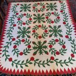 image of Early American Overshot Coverlet