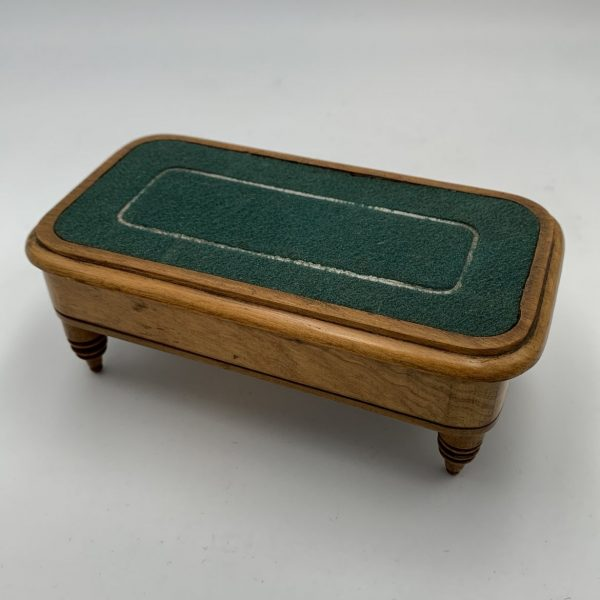 Stamp Box in the Form of a Game Table