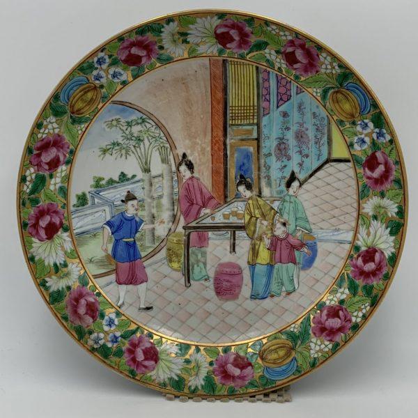 Rose Mandarin Soup Plate