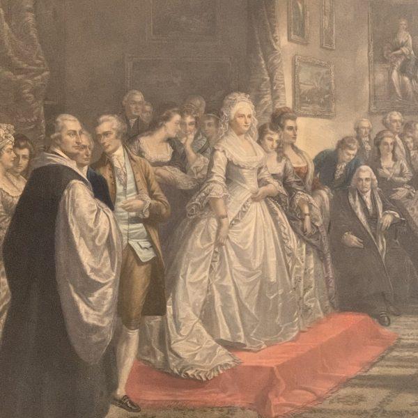 Lady Washington's Reception