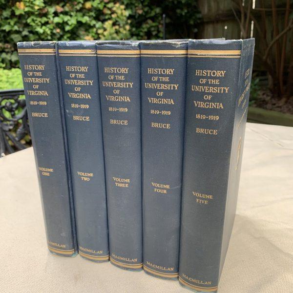 History of The University of Virginia, Centennial Edition, 5 Volumes