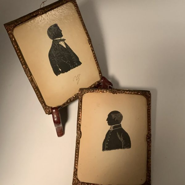 German Pen and Ink Silhouettes