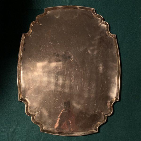 Eighteenth Century Brass Tray