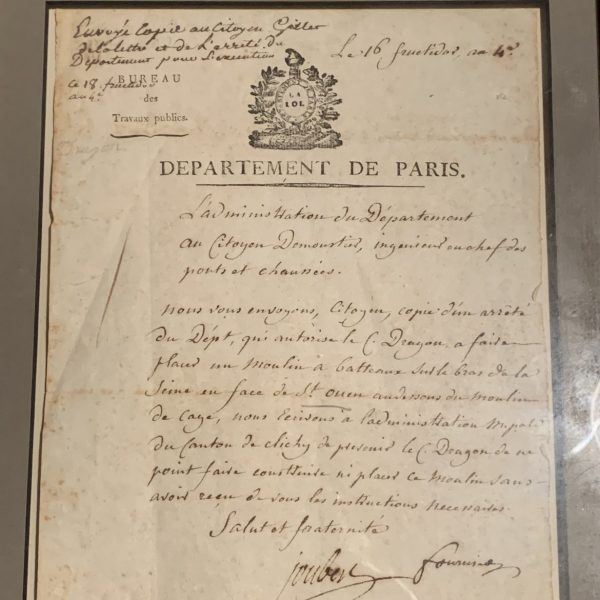 Revolutionary Period French Government Document