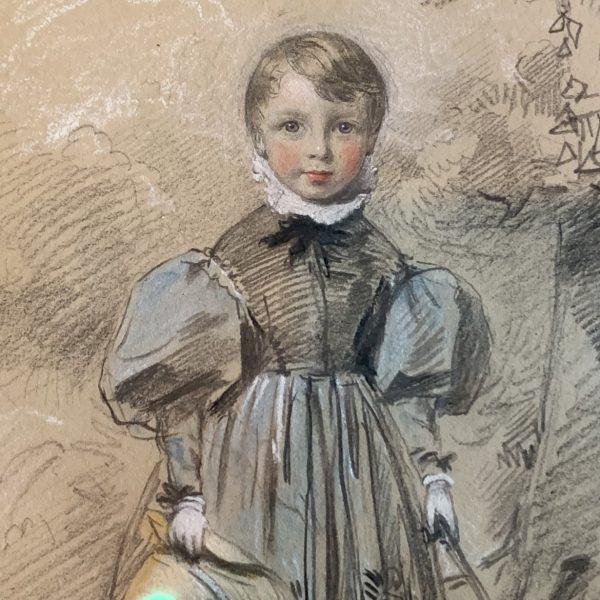 Stephen Catterson Smith, Portrait of Henry Shorland Watts