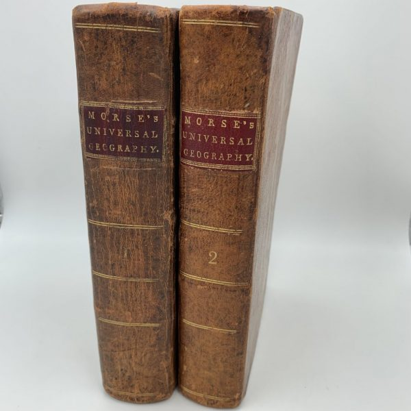 Jedidiah Morse, American Universal Geography, 1793