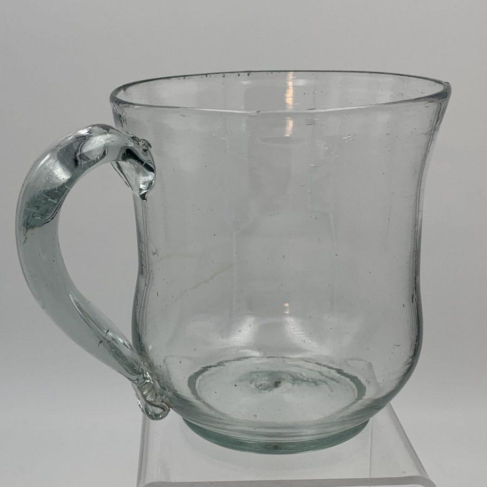 Large Blown Glass Mug