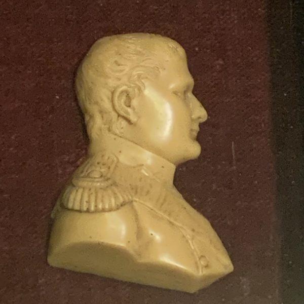 Wax Profile Portrait of Napoleon