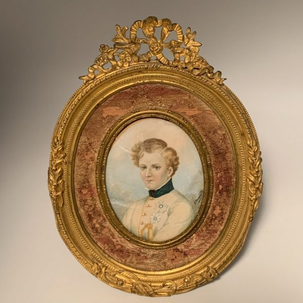 Napoleon II Miniature Portrait