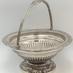 image of Early Tiffany Sterling Syrup Jug