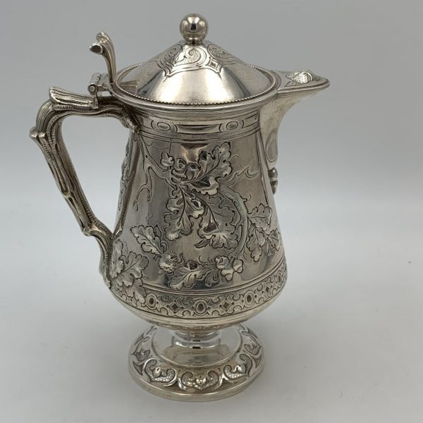 Early Tiffany Sterling Syrup Jug