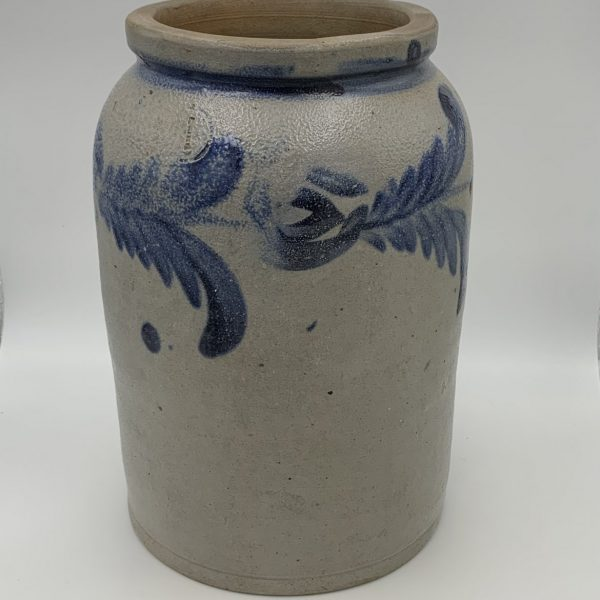 A One Gallon Stoneware Jar