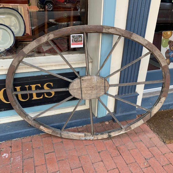 Large Federal Period Oval Window