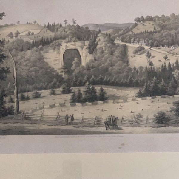 Natural Bridge, by Edward Beyer