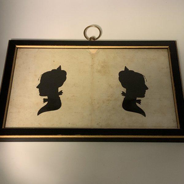 Rare Double Silhouette