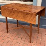image of American Hepplewhite Three Part Dining Table