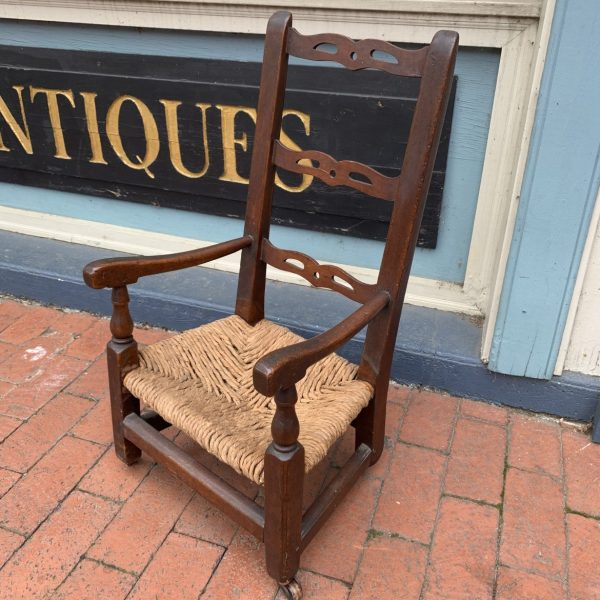 Early New England Child's Chair