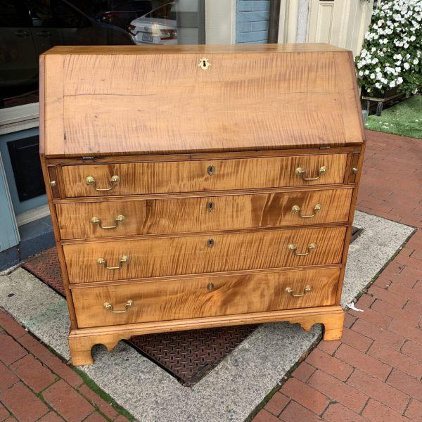 New England Tiger Maple Desk